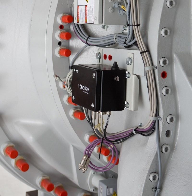 Moventas CMaS unit on wind gearbox
