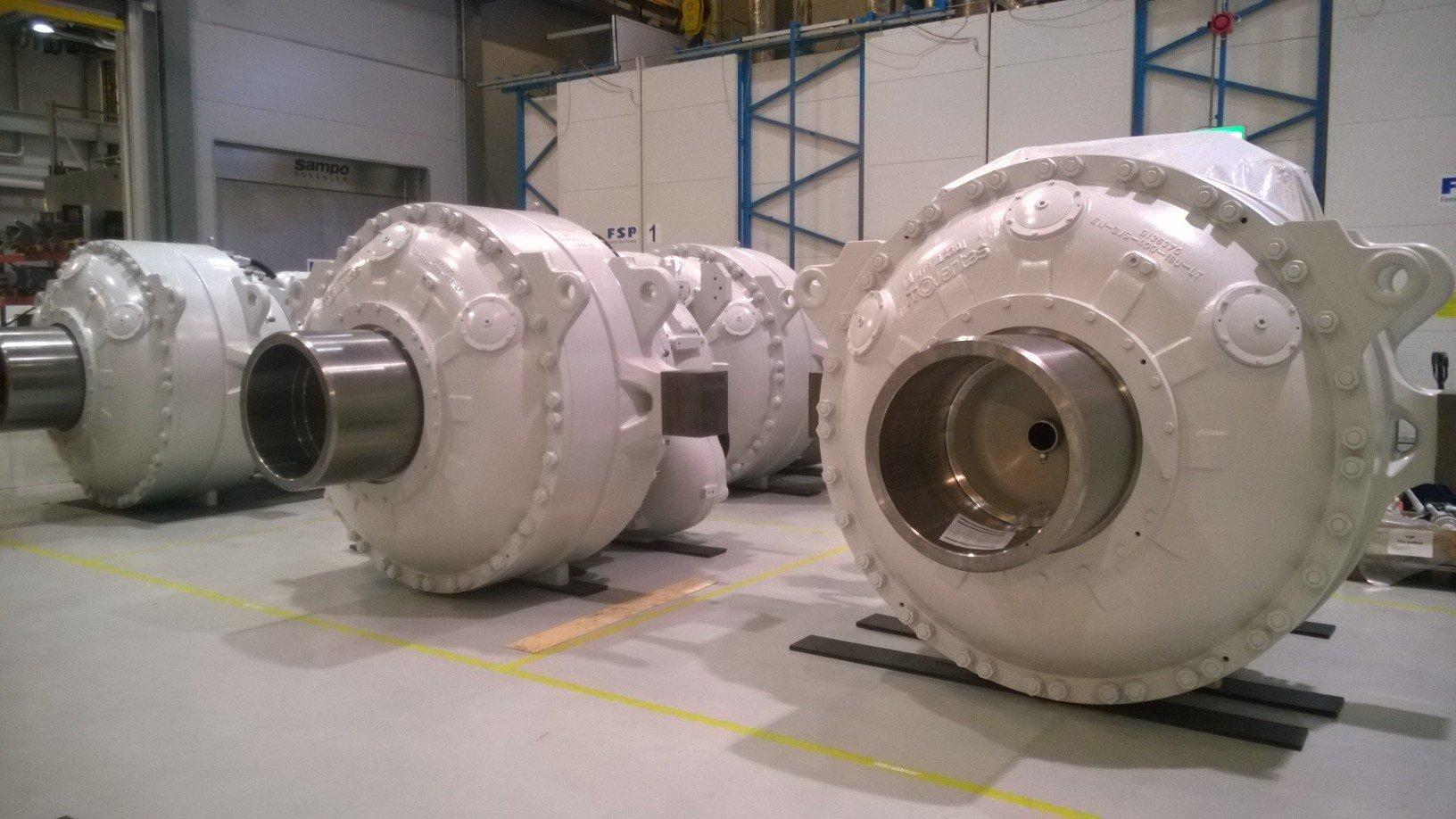 Exceed 3MW Gearboxes for Acciona