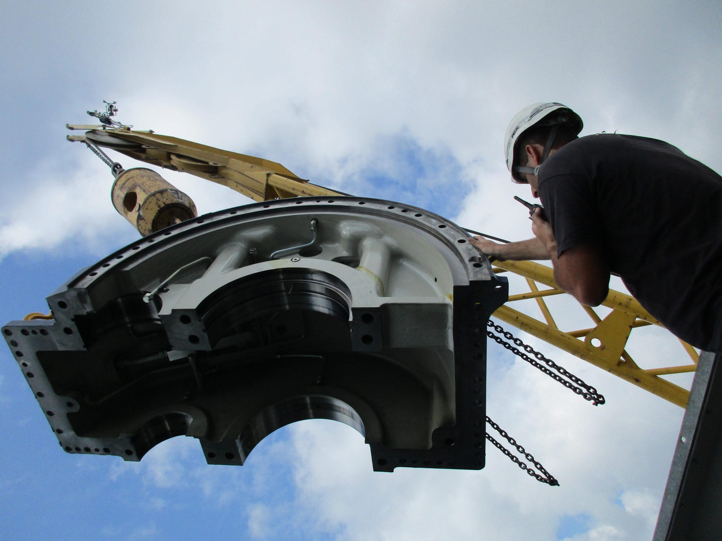 gearbox field service