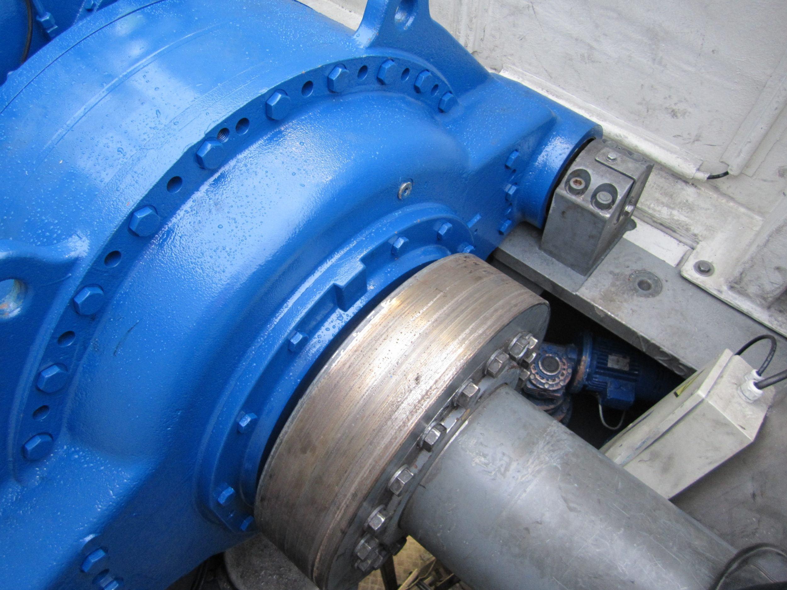 ZF Hansen EH601 gearbox