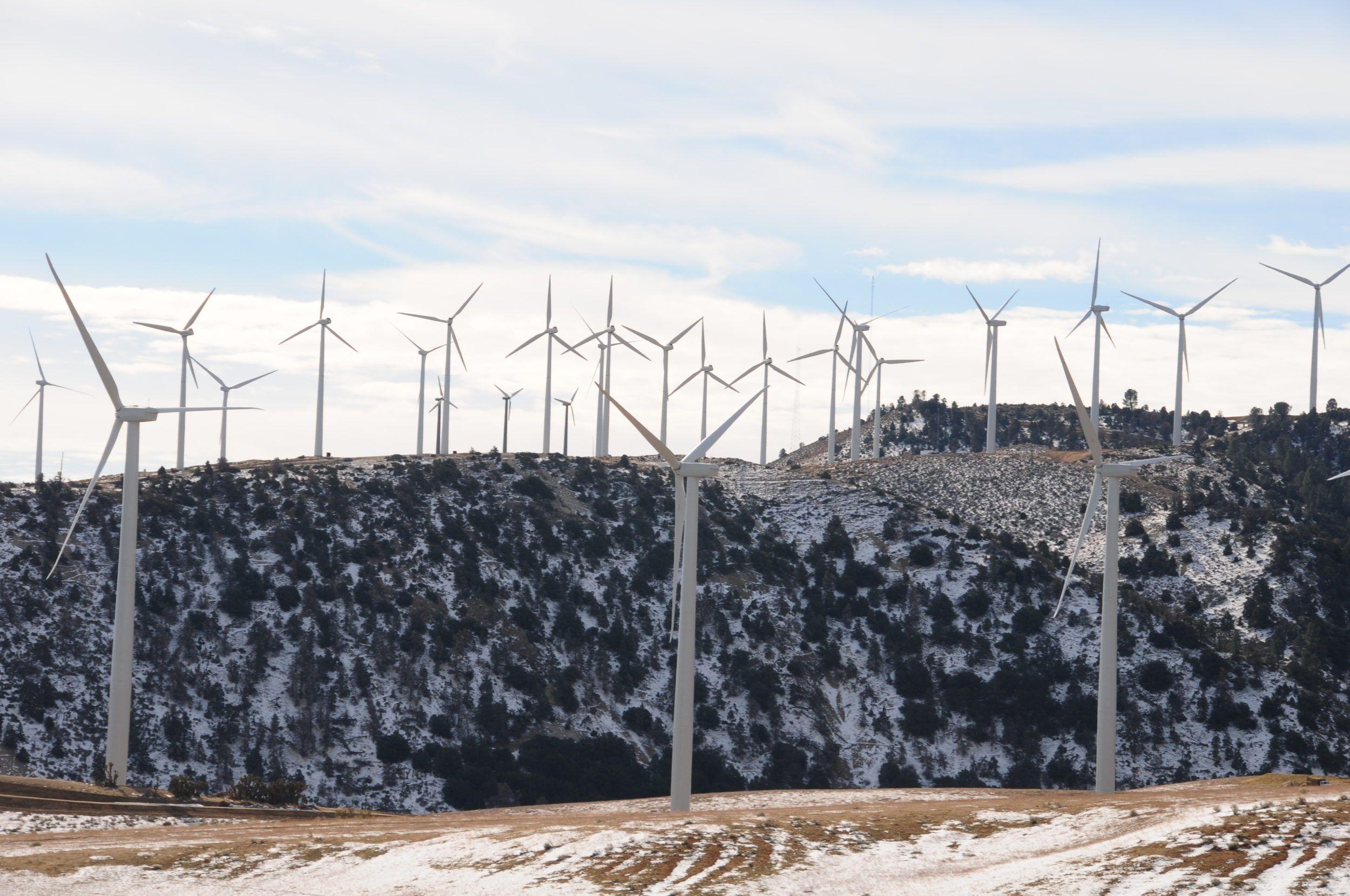 Wind farm wind turbine gearbox service agreement