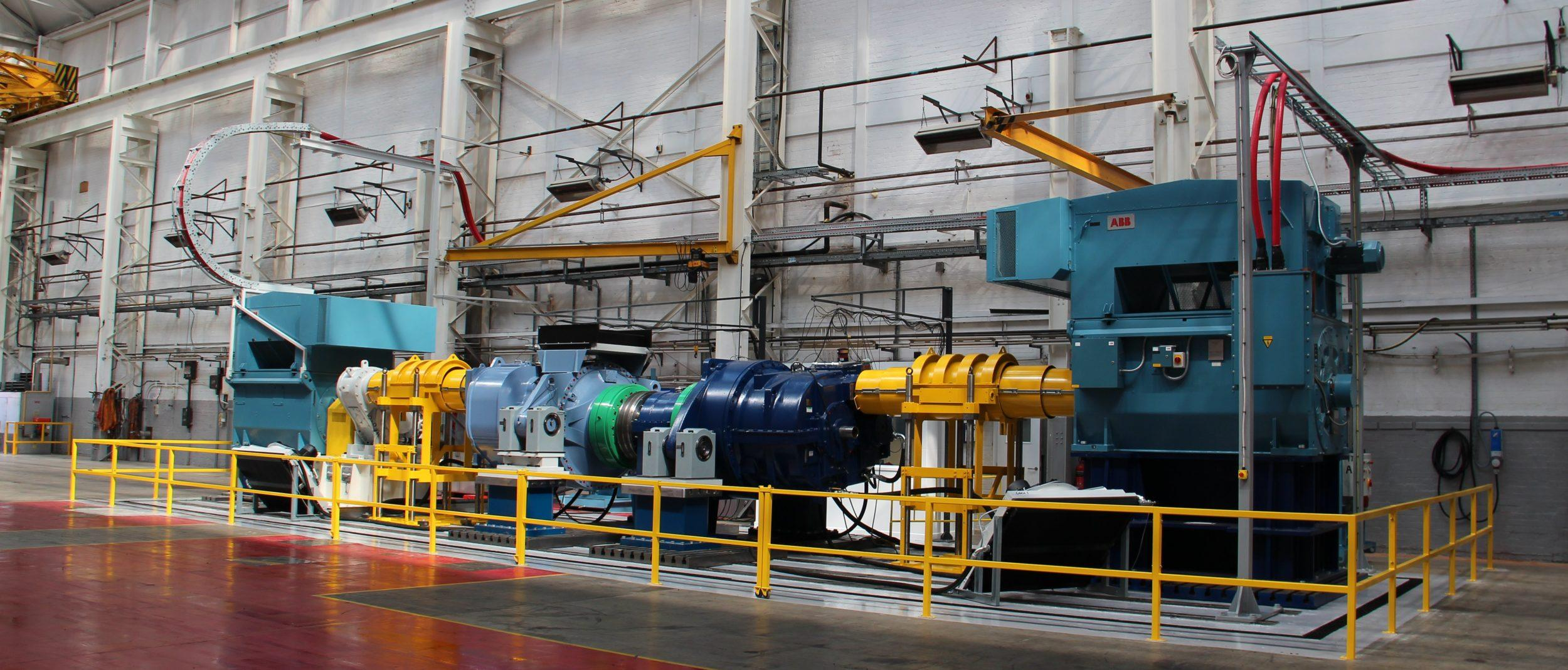 Moventas Huddersfield Wind Gearbox Full Assembly Test Bench
